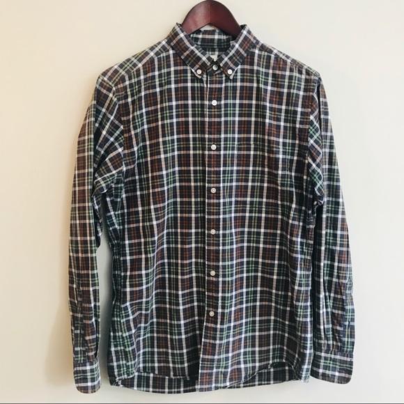 451d84cc881 Uniqlo Shirts | Plaid Button Front Shirt | Poshmark